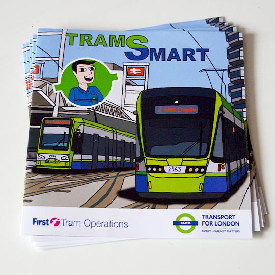 tram smart booklet by Ronan O'Brien